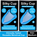 Silky Cup Menstrual Cup Vaginal Cup, Menses Cup, Menstruation Cup, Masikdharm Cup, Period Cup, Sanitary Cup